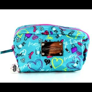 New Chinese Laundry Make Up Bag Vibrant Blue